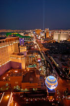 Aerial view of Las Vegas Strip. Las Vegas, Nevada, USA. - Photo #13681