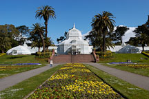Conservatory of Flowers. Golden Gate Park, San Francisco, California, USA. - Photo #3481