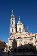 St Nicholas Church in the little quarter. Prague, Czech Republic. - Photo #29981