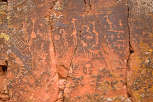 V-Bar-V Ranch petroglyphs. Arizona, USA. - Photo #17781