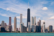 Chicago shoreline. Chicago, Illinois, USA. - Photo #10782
