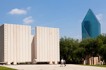 John F Kennedy Memorial Plaza. Dallas, Texas. - Photo #25182