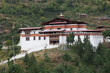 Simtokha Dzong. South of Thimphu, Bhutan. - Photo #23882