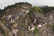 Taktshang Goemba in Paro Valley, Bhutan. - Photo #24282