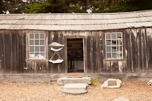 Whaler's cabin. Point Lobos, California. - Photo #26982