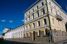 Building near Senate Square. Helsinki, Finland - Photo #483