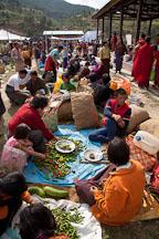 Punakha weekend market. - Photo #23283
