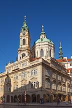 Saint Nicholas Church in the center of LIttle Quarter Square. Prague, Czech Republic. - Photo #29983