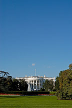 The White House in the late afternoon.  Washington, D.C., USA. - Photo #11383