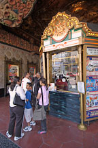 Lining up to purchase tickets at the box office. El Capitan theater, Hollywood, California, USA. - Photo #7484