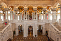 The Great Hall of the Library of Congress. Washington, D.C. - Photo #29284