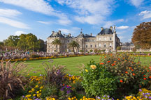 Luxembourg palace and gardens. Paris, France. - Photo #31284