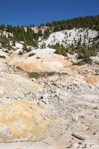 Rocky hillside of the Bumpass Hell area. Lassen NP, California. - Photo #27084