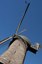 Dutch Windmill. Golden Gate Park, San Francisco, California, USA. - Photo #2684