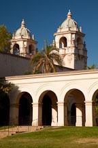 Towers of Casa del Prado. Balboa Park, San Diego. - Photo #25884
