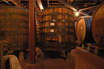 Barrels holding wine. Napa Valley, California, USA. - Photo #4585