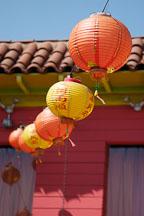 Lanterns. Chinatown, Los Angeles, California, USA. - Photo #6885