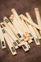 Mahjong betting sticks. - Photo #17185