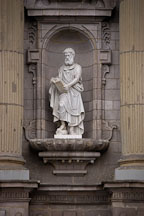 Statue of Saint Matthew. Lima Cathedral, Peru. - Photo #8785