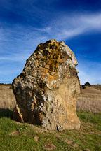 Large boulder. Russian Ridge Open Space Preserve. California. - Photo #3386