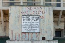United States penitentiary sign. Alcatraz Island. - Photo #28886