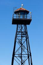 Guard tower. Alcatraz Island, California. - Photo #28887