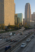 Harbor Freeway (110). Los Angeles, California, USA. - Photo #7988