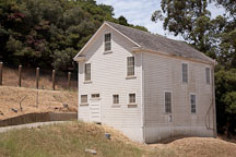 Mule barn. Angel Island Immigration Station, California. - Photo #21988