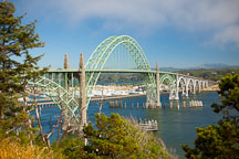 Yaquina Bay Bridge, Oregon. - Photo #28688