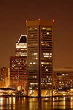World trade center. Inner harbor, Baltimore, Maryland, USA. - Photo #3989