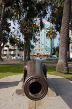 Cannon. Palisades Park, Santa Monica, California, USA. - Photo #7008
