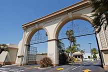 Entrance to Paramount Studios on Melrose avenue. Los Angeles, California, USA - Photo #7873