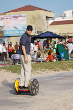 Segway rider. Venice beach boardwalk, California, USA - Photo #7647