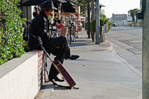 Musician. Sunset Boulevard, Los Angeles, California, USA - Photo #7630