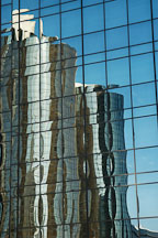 Reflection of the Westin Bonaventure. Los Angeles, California, USA. - Photo #7932