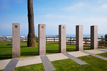 Santa Monica Veterans Memorial. Palisades Park, Santa Monica California, USA. - Photo #7002