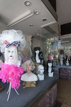 Wig shop. Hollywood, California, USA. - Photo #7514