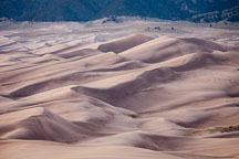 Dune field. Great Sand Dunes NP, Colorado. - Photo #33190