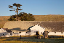 Hay barn at Pierce Ranch. Point Reyes, California. - Photo #25490