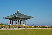 Korean Friendship Bell. Angels Gate Park, San Pedro, California, USA. - Photo #7290