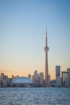 CN Tower and skydome. Toronto, Canada. - Photo #33091