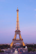 Eiffel Tower. Paris, France. - Photo #30891