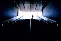 Entrance to Metro station at Hollywood and Highland. Los Angeles, California. - Photo #591