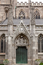 Gothic revival architecture of Grace Church. New York. - Photo #25291