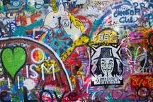 Lennon Wall. Prague, Czech Republic. - Photo #29991