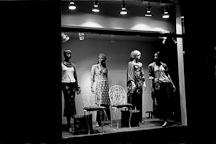 Mannequins in store windows. Helsinki, Finland - Photo #3191