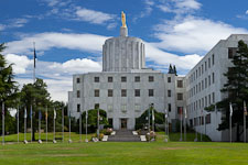 Oregon State Capitol Building. Salem, Oregon. - Photo #27991