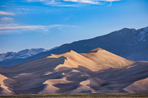 View arriving at Great Sand Dunes NP, Colorado. - Photo #33191