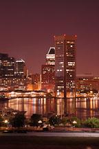World trade center. Inner harbor, Baltimore, Maryland, USA. - Photo #3991
