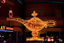 Aladdin's lamp. Las Vegas, Nevada. - Photo #19992